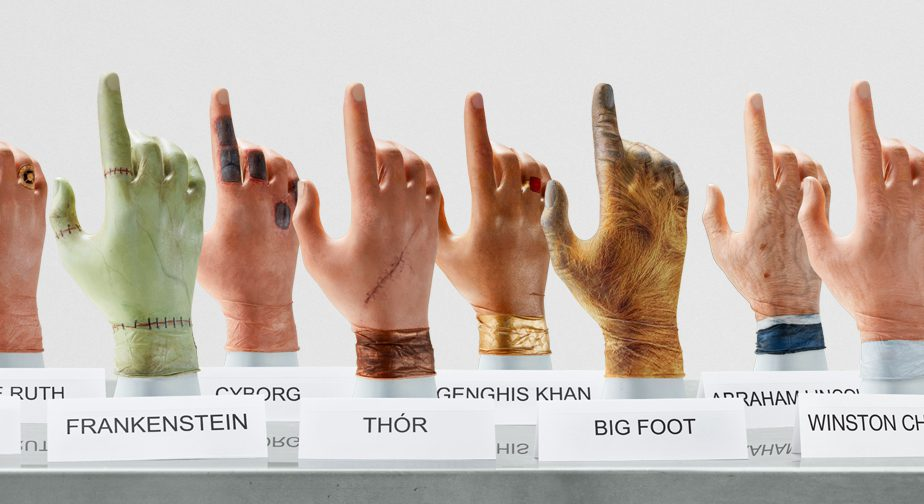 Famous fingers collection