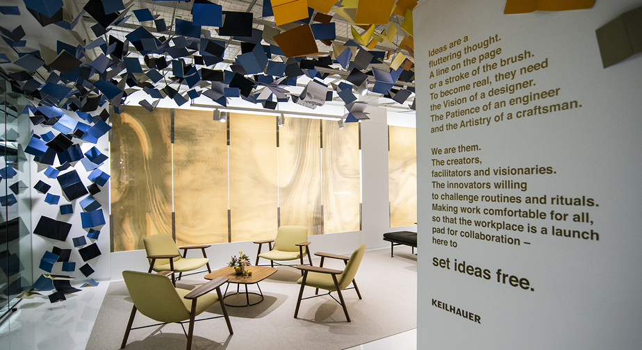Set Ideas Free - The experience was based on the premise that great ideas start with a sketch,