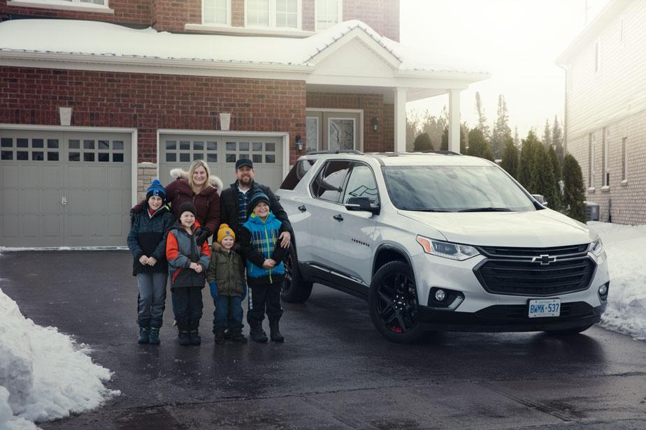 Chevrolet - David Belitski réalise probablement le Rêve canadien image