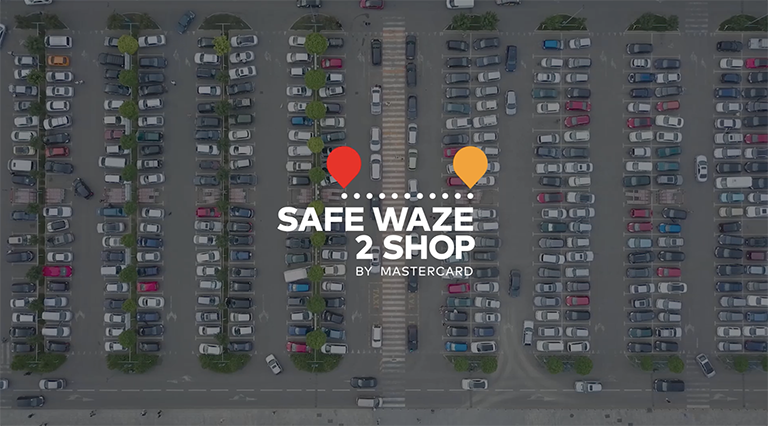 MASTERCARD'S SAFE WAZE 2 SHOP RECOGNIZED BY CANNES, WEBBYS, ONE SHOW