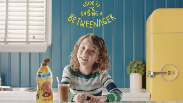 NEW CAMPAIGN FOR NESQUIK CELEBRATES THE AWKWARD LIFE OF 'BETWEENAGERS'